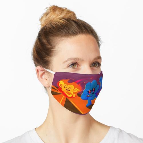 ES BRENNT BRENNT BRENNT Maske