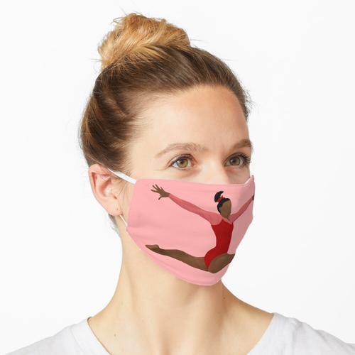 Simone Biles - Red Trikot Gymnastik Art Maske