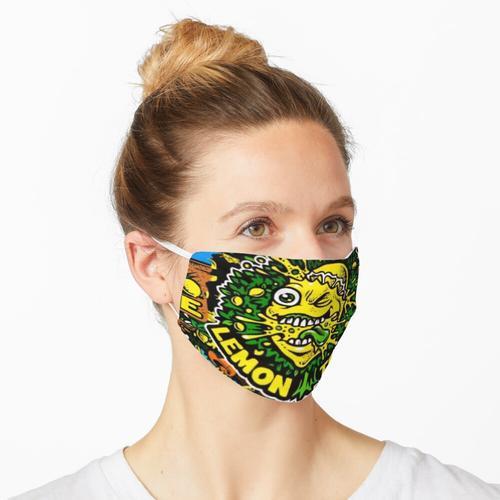 Zitronenbaum Maske