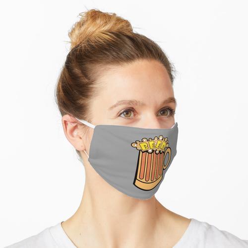 Schaumiger Bierkrug Maske