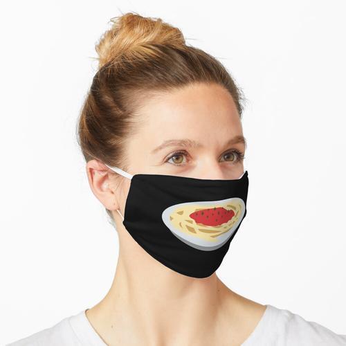 Spaghetti, Nudeln, Nudeln Maske