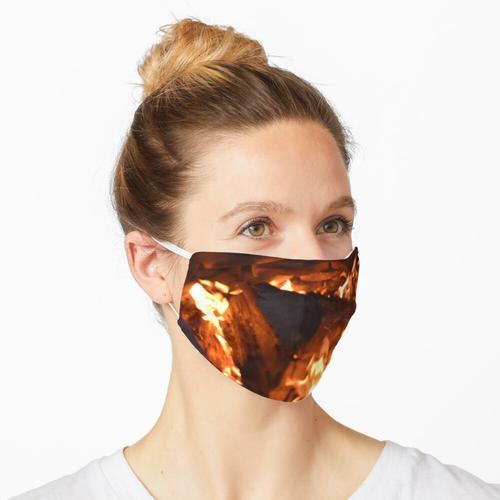Verbrennung Maske