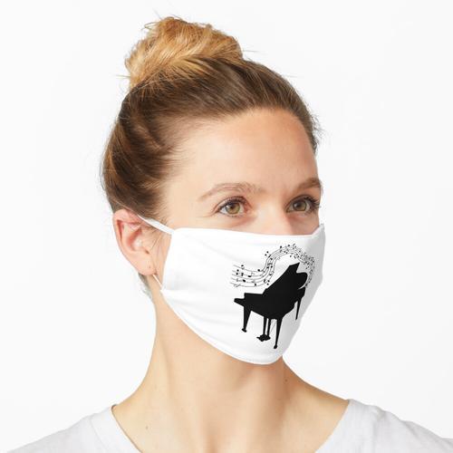 Klavier & Musiknoten Maske