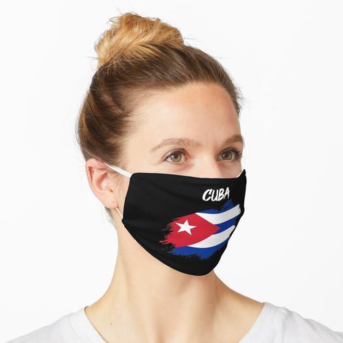 Kuba kubanisch Flagge Fahne Maske
