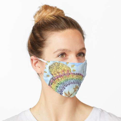 Lebensmittelfarbe Maske