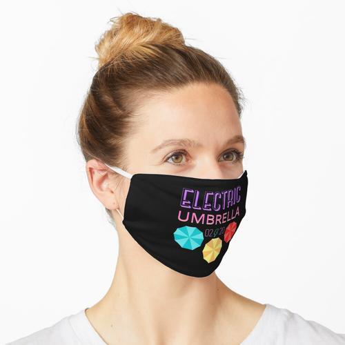 Elektrischer Regenschirm Maske