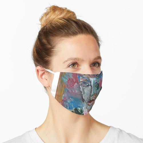 geschmolzenes Gesicht Maske