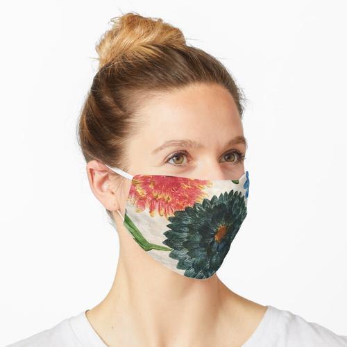 Dahlien Maske