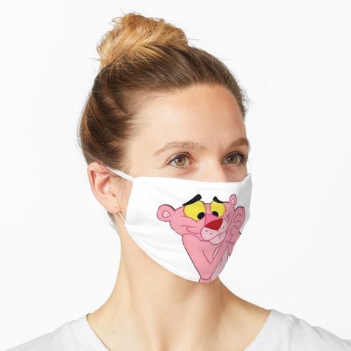 Pantera cor de rosa Maske