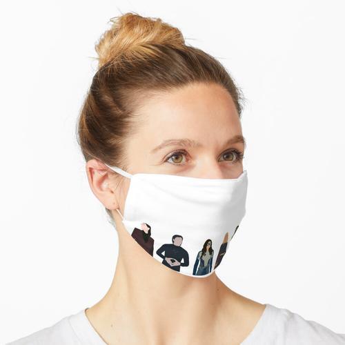 Superfreunde Maske