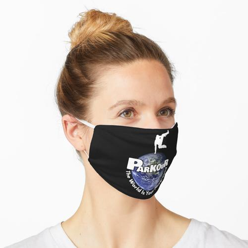 Die Welt ist dein Spielplatz Maske