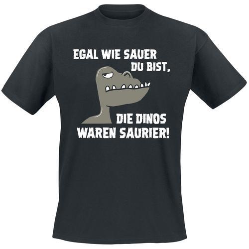 Egal wie sauer du bist Herren-T-Shirt - schwarz