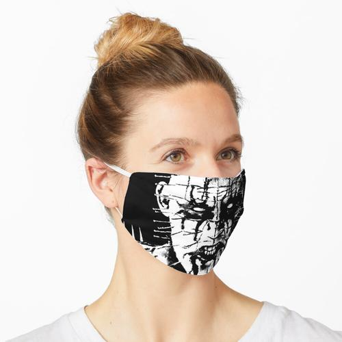 Black Metal Pinhead Maske