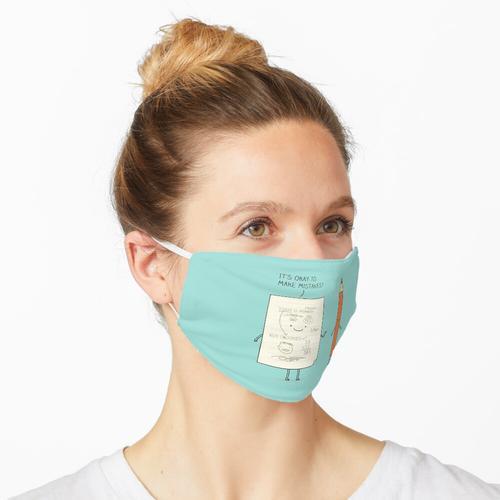 Empfindliches Papier Maske
