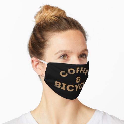 Kaffee & Fahrrad Maske
