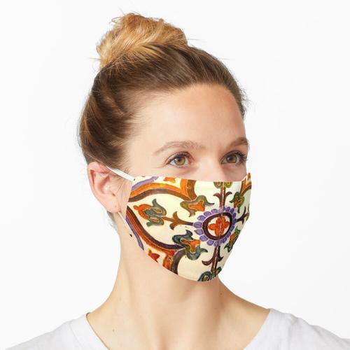 Spanische Fliese Maske