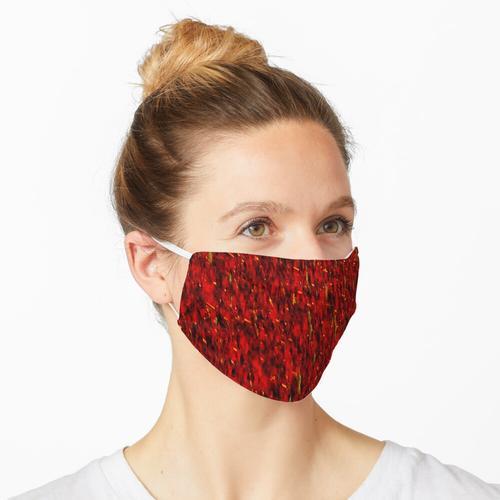 Der rote Vorhang Maske