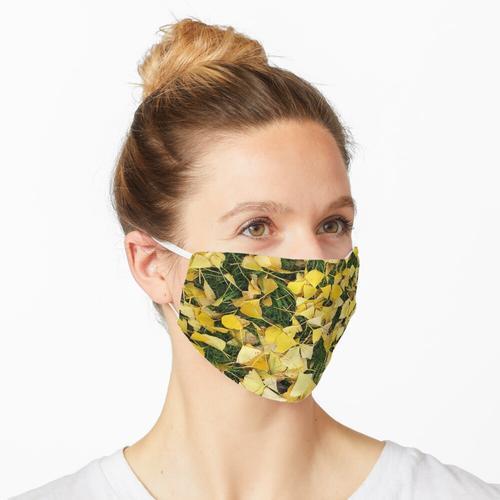Ginkgo Blätter I Maske