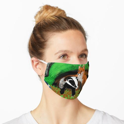 Von Füchsen und Dachsen Maske