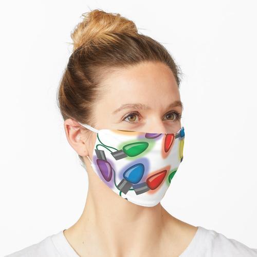Weihnachtsbeleuchtung Maske