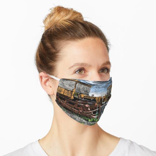 Dutzend in Farbe Maske