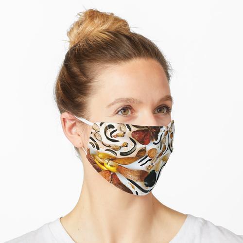 Walnot Maske