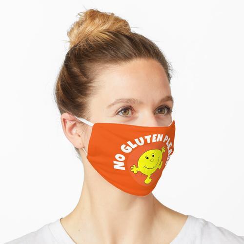 Kein Gluten bitte T-Shirt - Kein Gluten bitte T-Shirt - Kein Gluten bitte T-Shirt - Kein Glute Maske