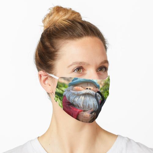 Gartenzwerg Maske
