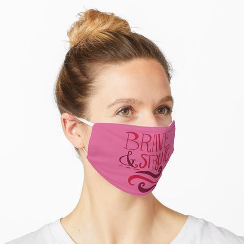 Marathons laufen Maske