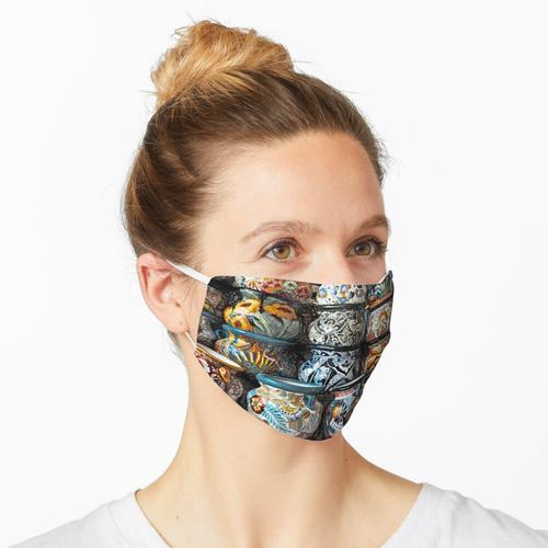 Steingut Maske