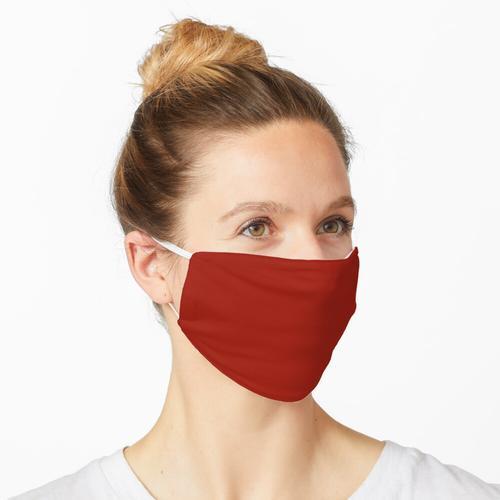 Kirschrot Feste rote Farbe Maske