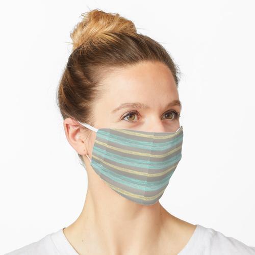 Bemalte Decke Maske