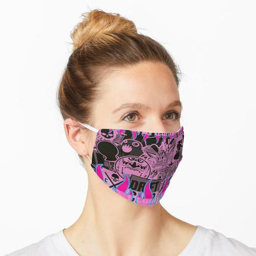 Stickerbomb 'noch eine Maske