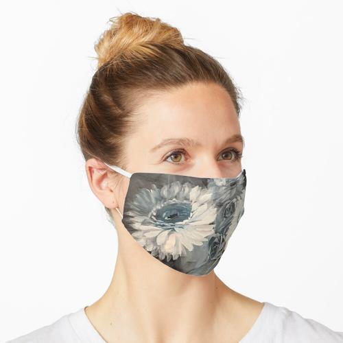 In Blau dekoriert Maske