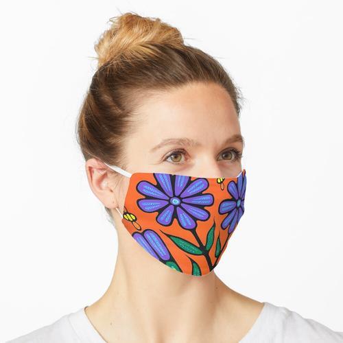 Bienen und Chicorée Maske