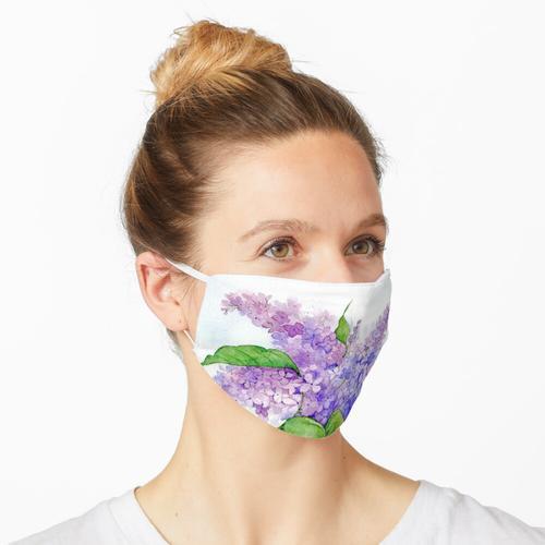 Fliederblüten Maske