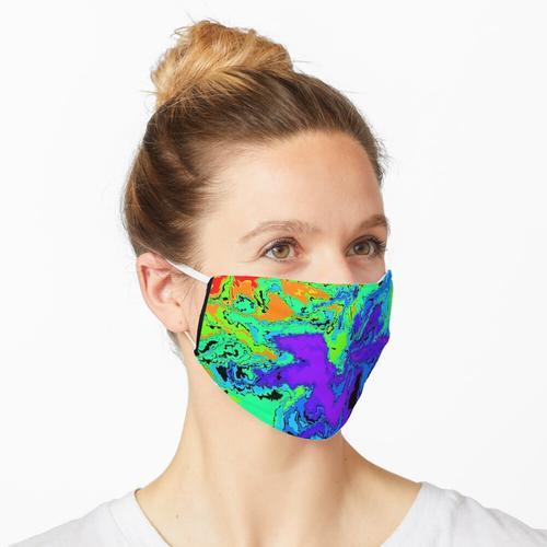 Ölverschmutzung Maske