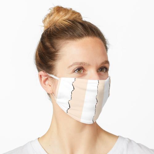 Zerrissenes Papier Maske