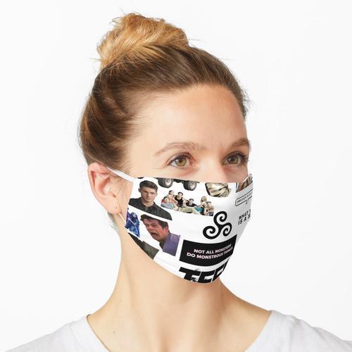 Teen Wolf 14er Pack Maske
