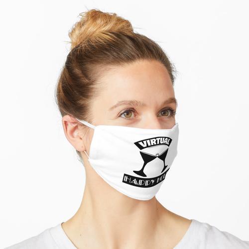 Virtuelle Happy Hour Maske
