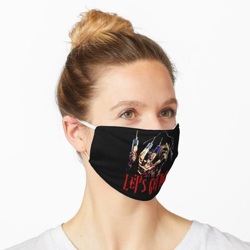 Lasst uns Bekifft werden Maske