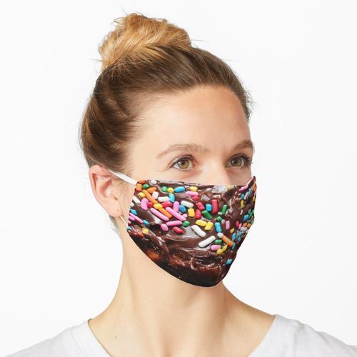 Leckeres, leckeres Gebäck Maske