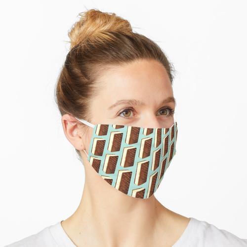 Eiscreme-Sandwich Maske
