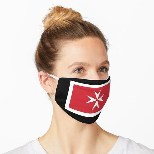 Zivilfahne von Malta Maske
