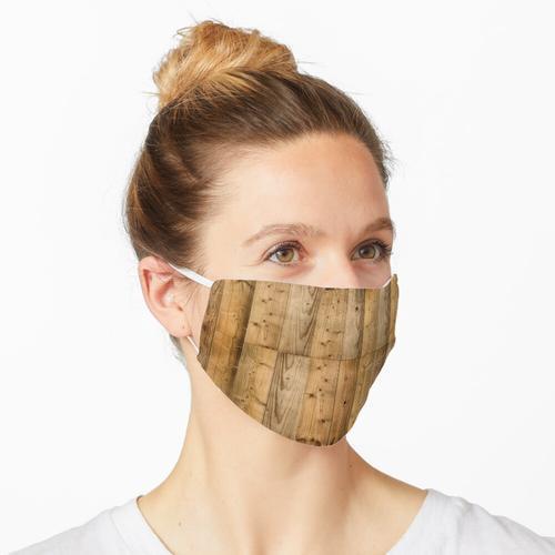 Holzbohlen 6 - Dunkel Maske