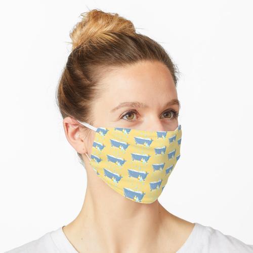 Schaumbadewanne Maske