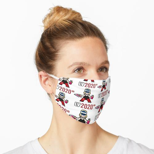 Lettland 2020 Maske