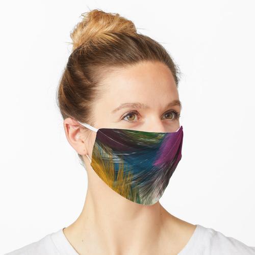 Federn Strukturen Maske