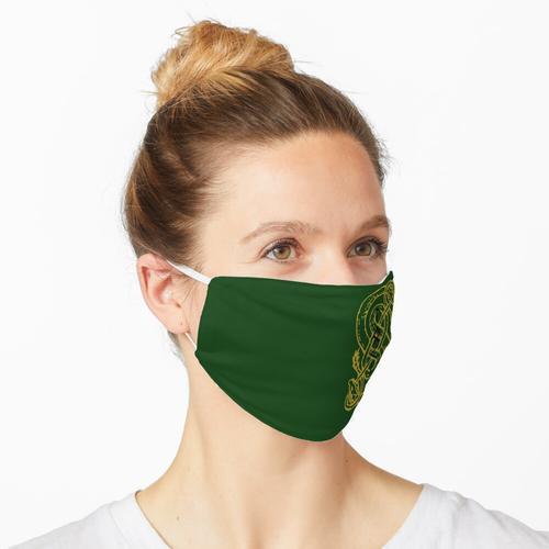 Schlangenartige Schlangen Maske