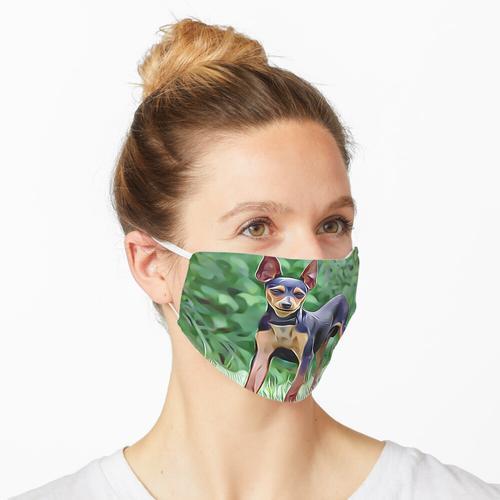 Der Zwergpinscher Maske